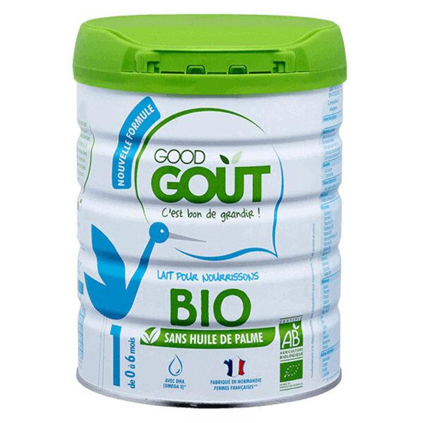Good Goût Lait Infantile 1er Âge Bio 800g