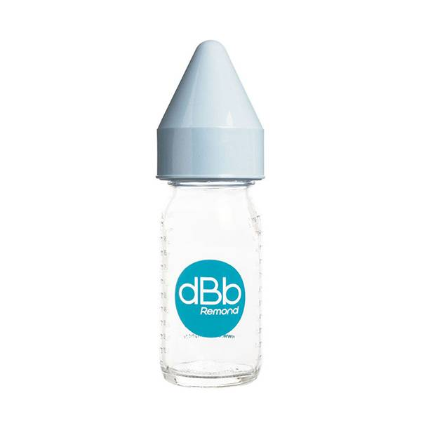 dBb Remond Biberon Jus de Fruit Régul'Air Verre Ciel 110ml