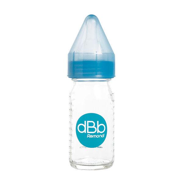dBb Remond Biberon Jus de Fruit Régul'Air Verre Bleu Translucide 110ml