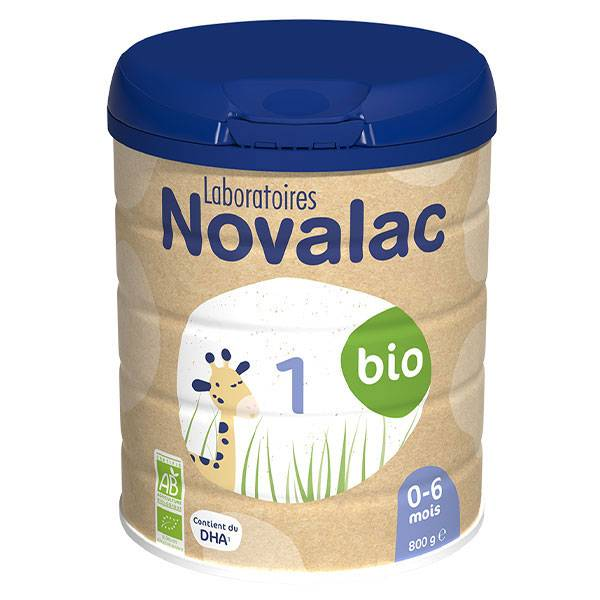 Novalac Lait Infantile 1er Âge Bio 800g