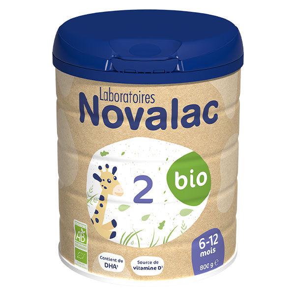 Novalac Lait de Suite 2ème Âge Bio 800g