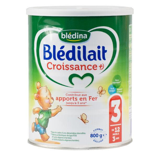 Blédina Blédilait Lait de Croissance+ 3ème Âge 800g