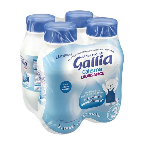 Gallia Calisma Lait de Croissance 4 x 500ml