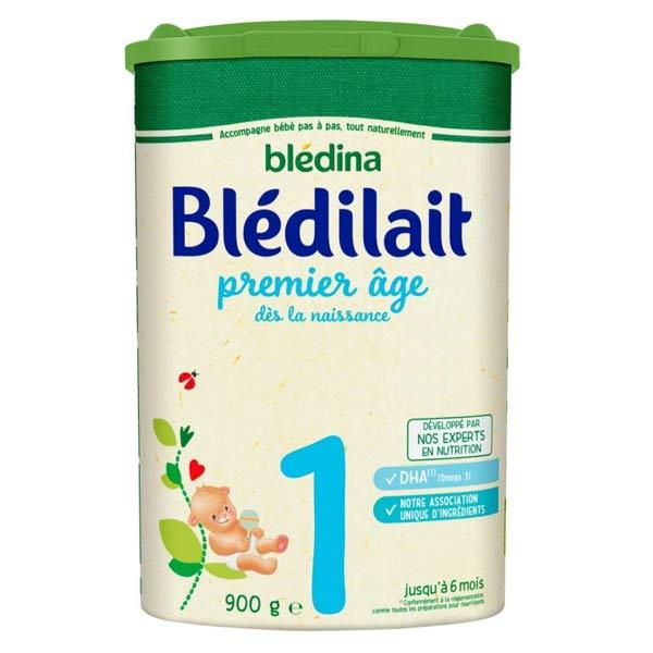 Blédina Blédilait Lait 1er Âge 900g