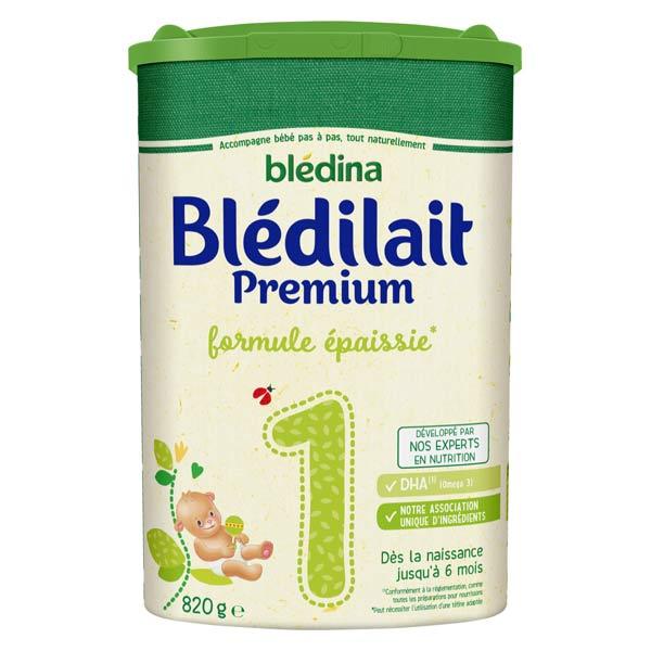 Blédina Blédilait Premium Lait 1er Âge 820g