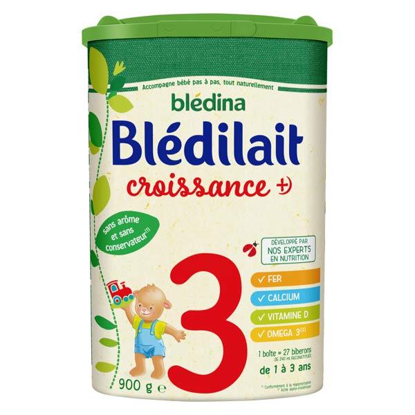 Blédina Blédilait Lait de Croissance+ 3ème Âge 900g