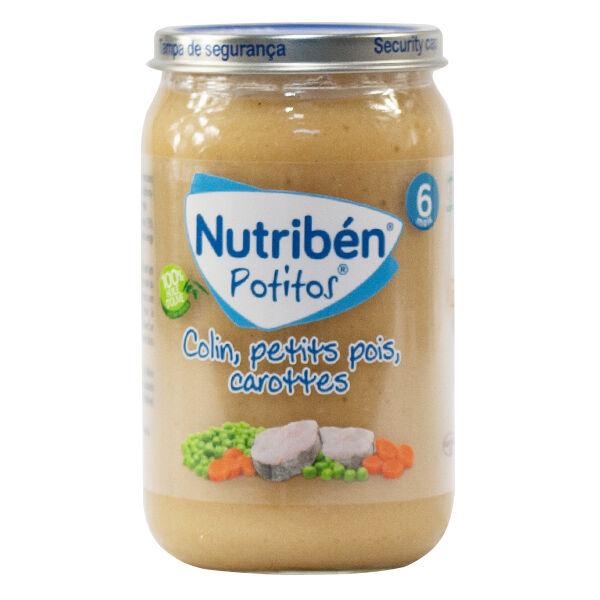 Nutriben Potitos Colin Petits Pois Carottes 235g