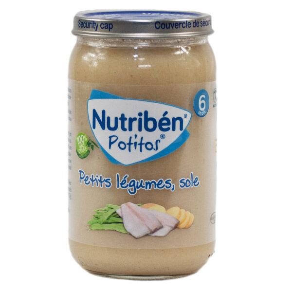 Nutriben Potitos Petits Légumes Sole 235g