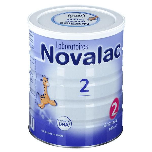Novalac Lait 2ème Âge 800g