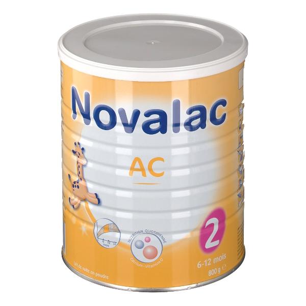 Novalac Lait AC Anti-Colique 2ème âge 800g