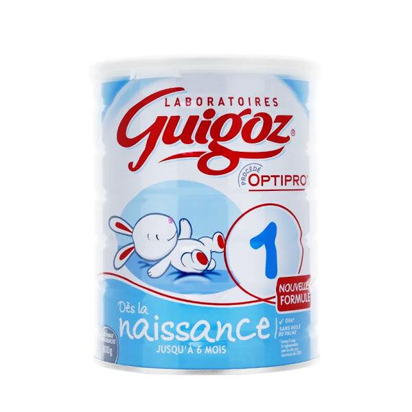 Guigoz Lait 1er âge Dès la Naissance 800g