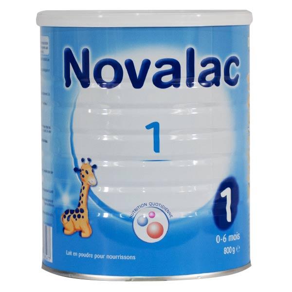 Novalac Lait 1er Âge 800g