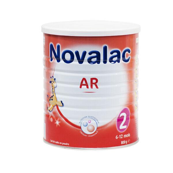 Novalac Lait AR Anti-Régurgitations 2ème Âge 800g