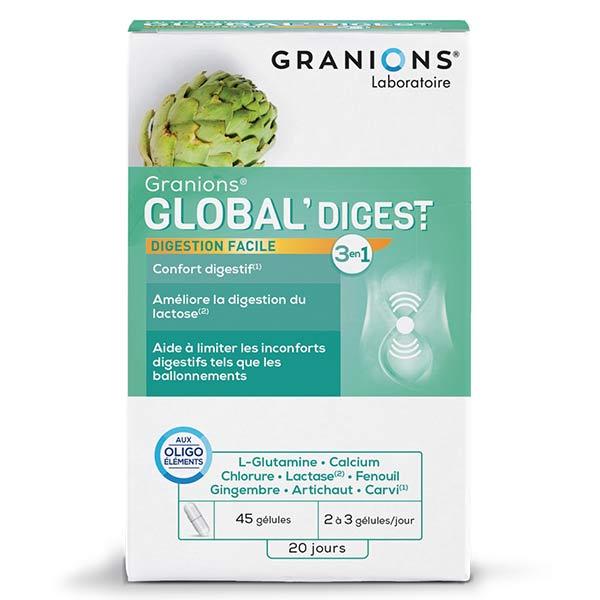 Laboratoire des Granions Granions Global'Digest 45 gélules