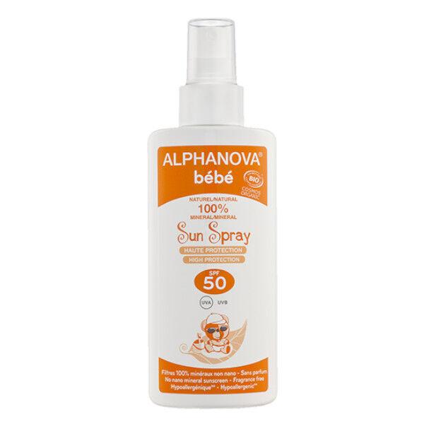 Alphanova Sun Bébé Spray Bio SPF50 125ml