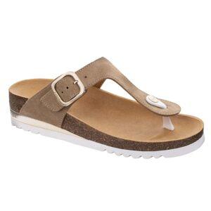 Scholl Chaussures de Confort Mules Ilary SS 1 Beige Clair Taille 36 - Publicité
