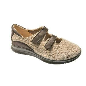 Chaussures Mixte Chut PU 1078 - Beige / Marron - Pointure 44