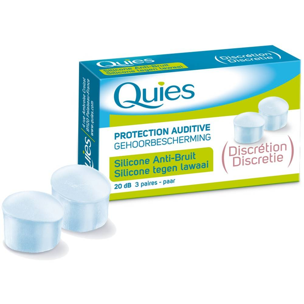 Quies Protection Auditive Silico...