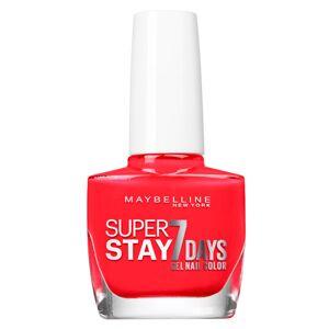 Maybelline New York Vernis à Ongles Superstay 7 Days N°493 Blood Orange 10ml - Publicité