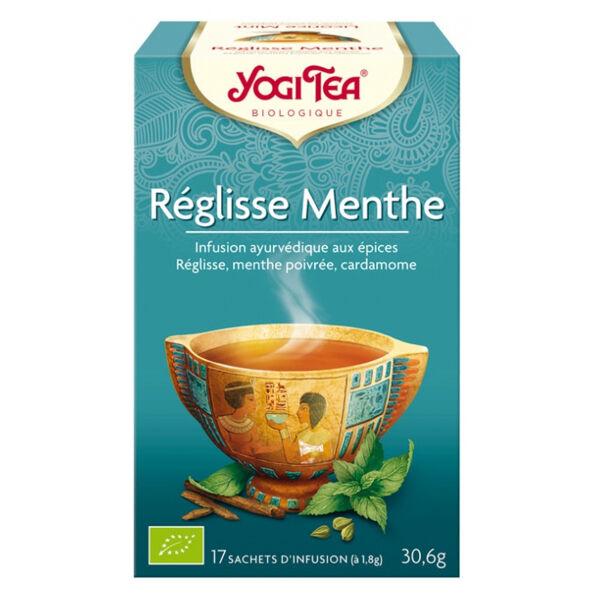 Yogi Tea Chlorella Menthe 17 sachets