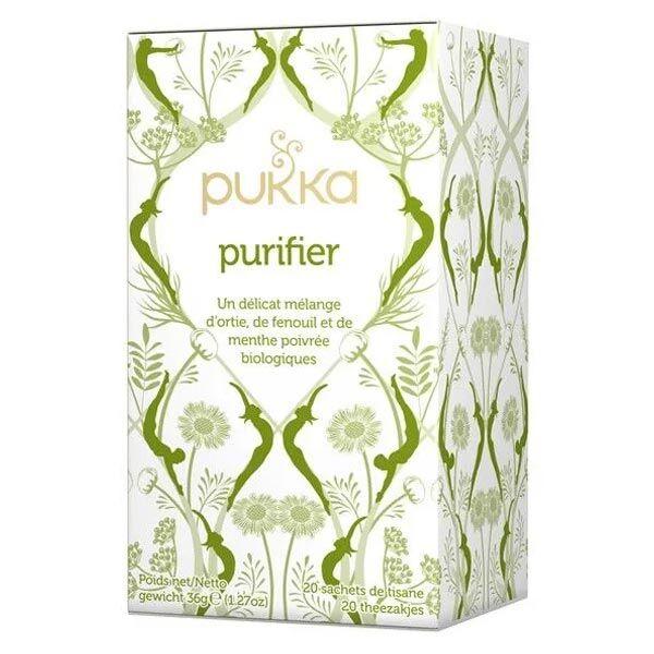 Pukka Tisane Ayurvédique Purifier Bio 20 sachets