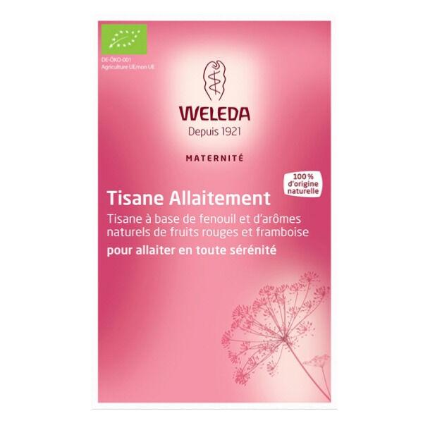 Weleda Maternité Tisane Allaitement Fruits Rouges 20 sachets