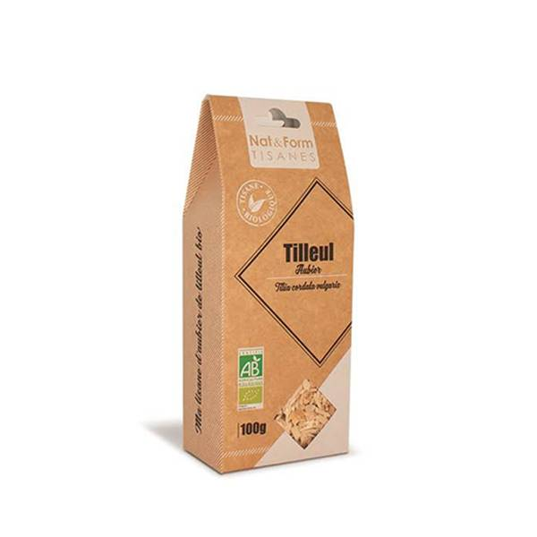 Nat & Form Tisane Aubier de Tilleul Blanc Ecorce Bio 100g