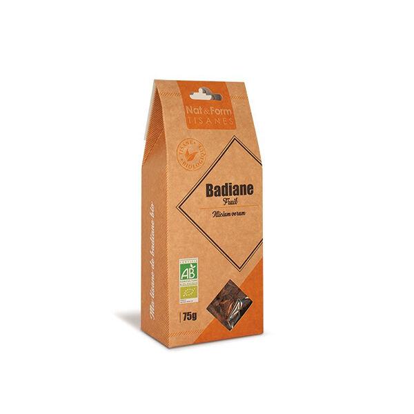 Nat & Form Tisane Badiane Bio 75g