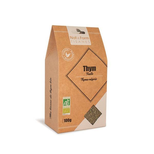 Nat & Form Tisane Thym Bio 100g