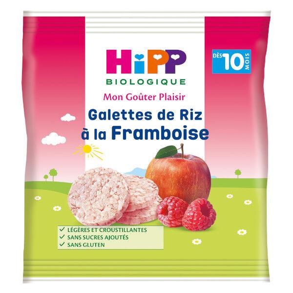 Hipp Bio Mon Goûter Plaisir Galettes de Riz à la Framboise +10m 30g
