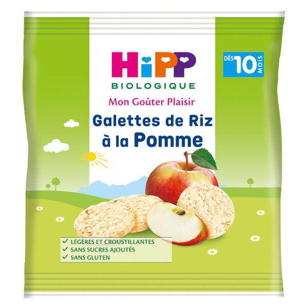 Hipp Bio Mon Goûter Plaisir Galettes de Riz à la Pomme +10m 30g