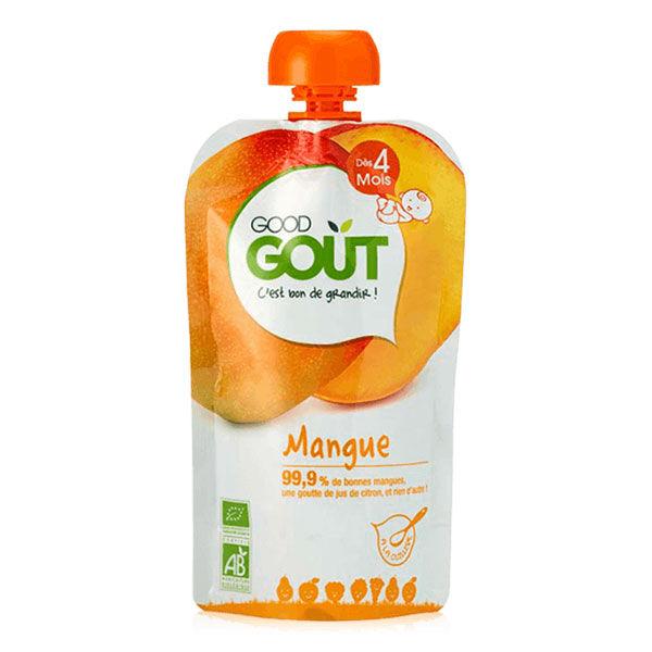 Good Goût Gourde Compote de Fruits Mangue +4m Bio 120g