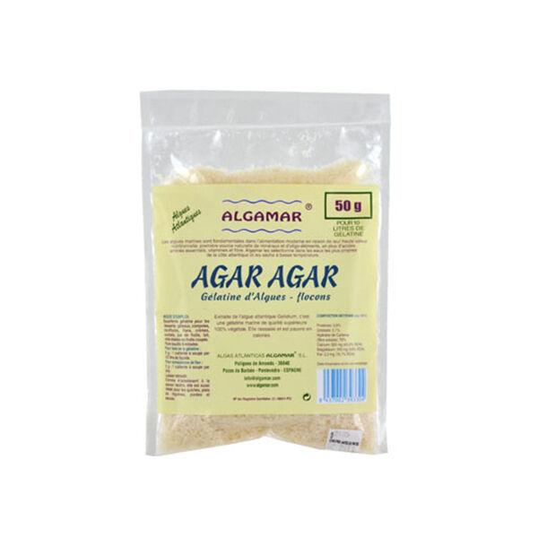 Algamar Agar-Agar Atlantique en Flocons Bio 50g