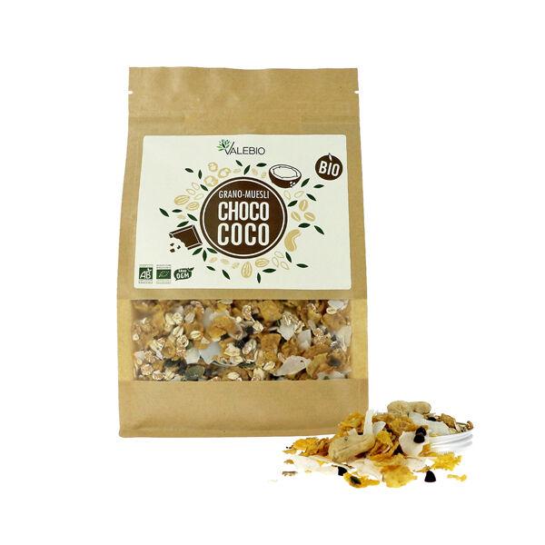 Valebio Grano-Muesli Choco-Coco Bio 375g