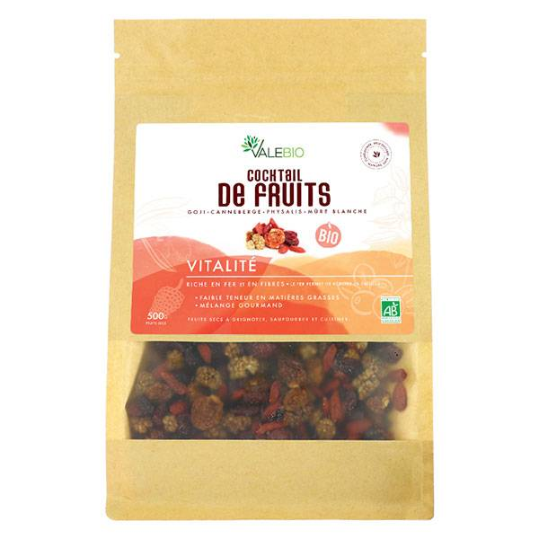 Valebio Cocktail Superfruits Bio 500g