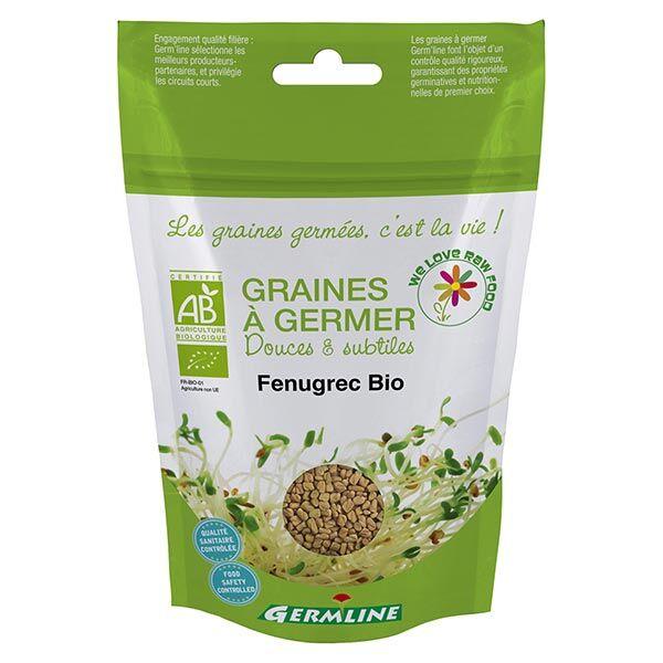 Germ'Line Germline Graines à Germer Fenugrec Origine Inde Bio 150g