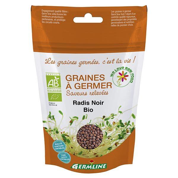Germ'Line Germline Graines à Germer Radis Noir Bio 150g
