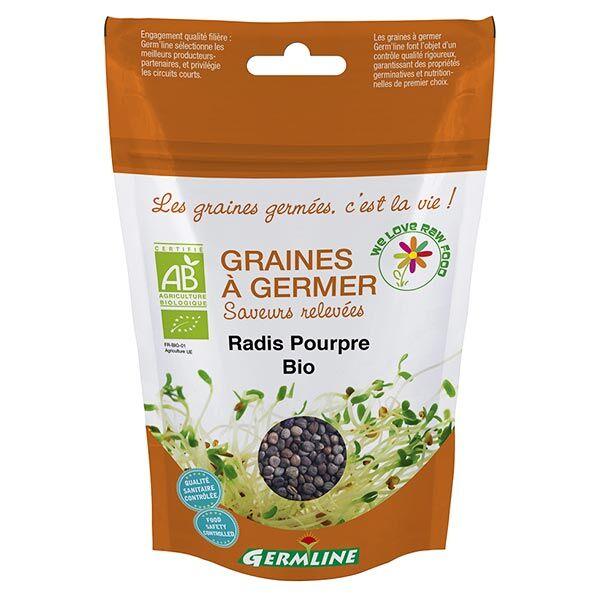 Germ'Line Germline Graines à Germer Radis Pourpre Bio 100g