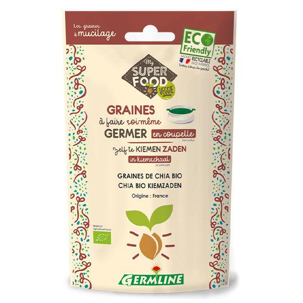 Germ'Line Germline Graines à Germer Chia Bio 100g