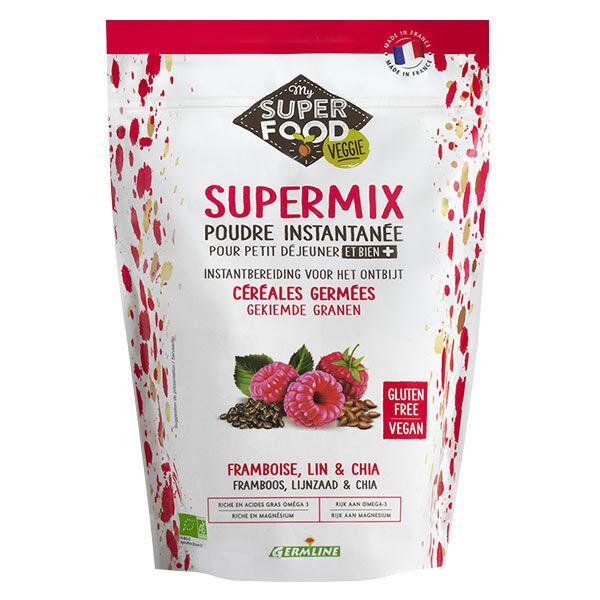 Germ'Line Germline Supermix Petit-Déjeuner Framboise Lin Chia Bio 350g