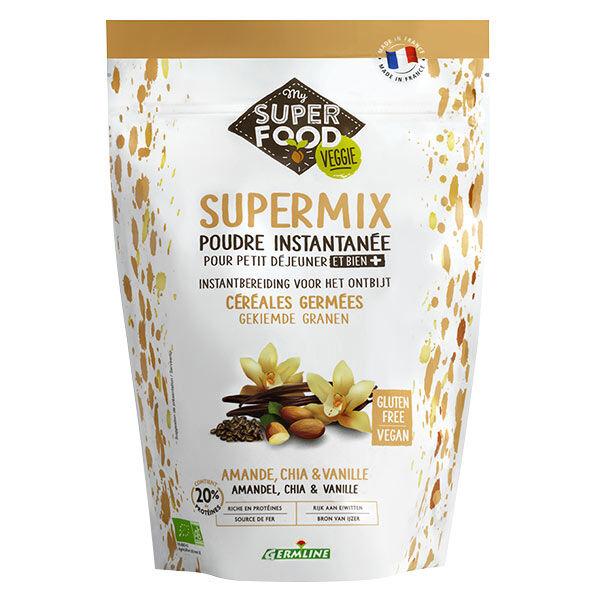 Germ'Line Germline Supermix Petit-Déjeuner Amande Chia Vanille Bio 350g