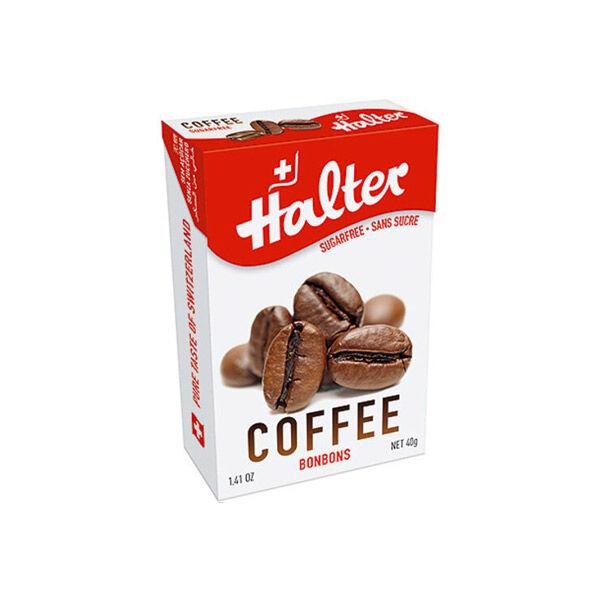 Halter Bonbon Suisse sans Sucre Café 40g