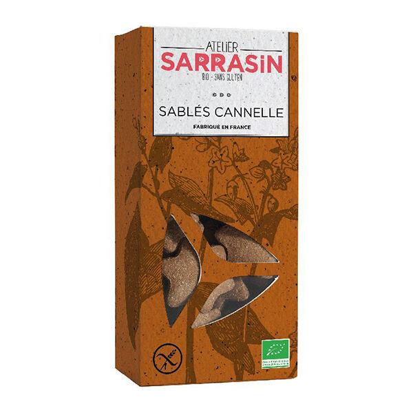 Atelier Sarrasin Sablés Cannelle Bio Sans Gluten 130g