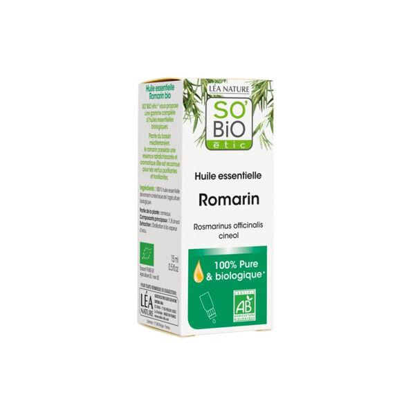 So Bio Etic So'Bio Etic Huile Essentielle Romarin Biologique 15ml