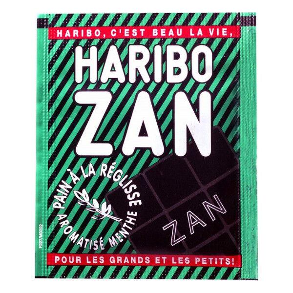 Ricqles Haribo Zan Confiserie à la Réglisse Aromatisée Menthe 12g