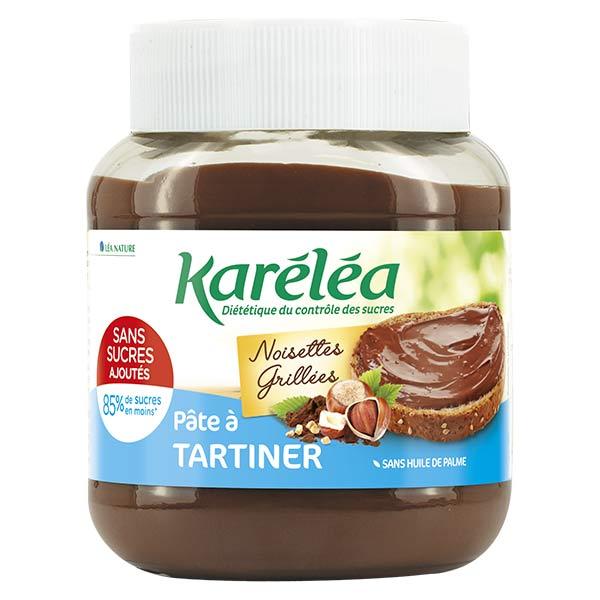 Karéléa Chocolat Sans Sucres Ajoutés Pâte à Tartiner Noisettes Cacao 400g