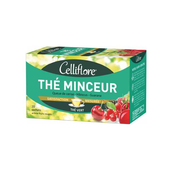 Celliflore Thé Minceur Goût Fruits Rouges 20 sachets