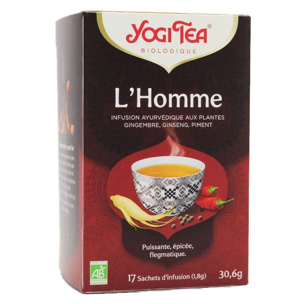 Yogi Tea L'Homme 17 sachets