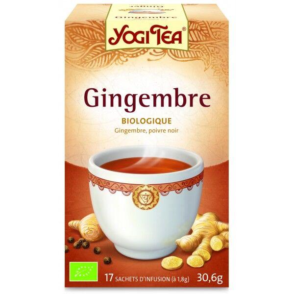 Yogi Tea Gingembre 17 sachets
