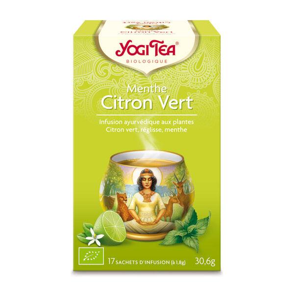Yogi Tea Menthe Citron Vert 17 sachets